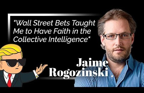 """""""WallStreetBets Taught Me to Have Religion within the Collective Intelligence"""" WSB Founder Jaime Rogozinski"""