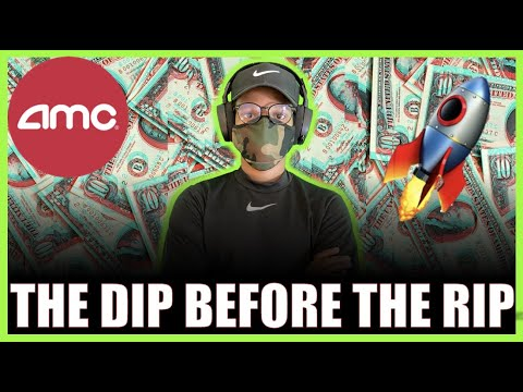 AMC STOCK| THE DIP BEFORE TAKEOFF – MONDAY WILL BE FUN