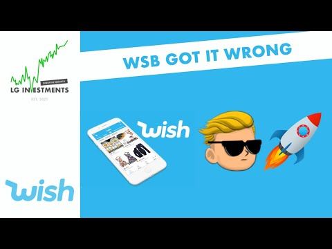 [ $WISH ] WallStreetBets purchased it depraved – Inventory Instant Curiosity Update 6/9/2021