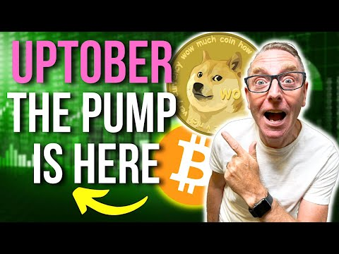 DOGECOIN THE PUMP IS HERE!! UPTOBER  HAS ARRIVED! LATEST NEWS, PRICES PREDICTIONS & ANALYSIS