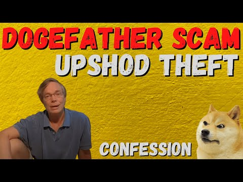 DOGECOIN DOGEFATHER MISSING? DID UPSHOD JUST TAKE THE MONEY AND RUN? UPCOIN RUGPULL WHERES UPSHOD?