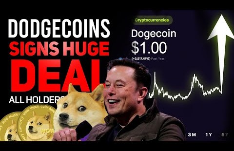 DODGECOIN JUST SIGNED ANOTHER HUGE DEAL! (HUGE NEWS FOR ALL HOLDERS) (DOGECOIN PRICE UPDATE!)