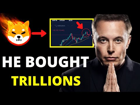 WHY ELON MUSK BOUGHT TRILLIONS SHIBA INU COINS? TOKEN TO $0.10? SHIB NEWS TODAY! PRICE PREDICTION