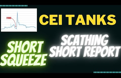 CEI Sage Dump ! | What Happened? And What's Subsequent for This SHORTSQUEEZE Stock? Prognosis