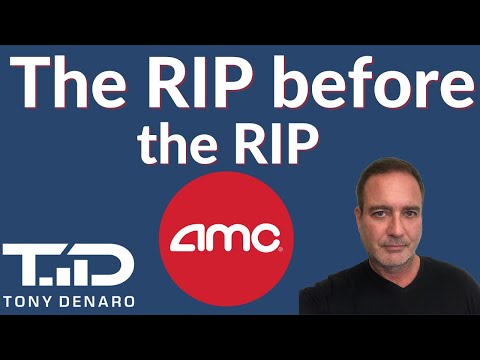 AMC – the RIP sooner than the RIP – what to wait for on Friday 10/15/21   AMC Short Squeeze