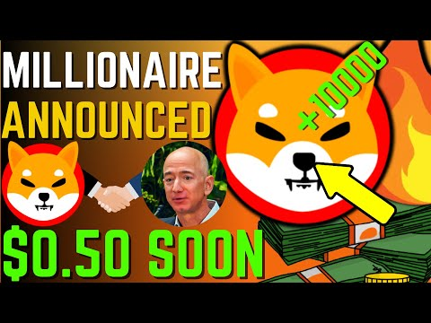 SHIBA INU COIN NEWS TODAY – SHIBA TO MAKE MILLIONAIRE AND WILL REACH $0.5 – PRICE PREDICTION UPDATED