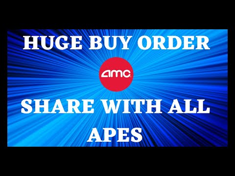AMC STOCK | 85,000,000 SHARE HUGE BUY ORDER HIT SHARE WITH ALL APES