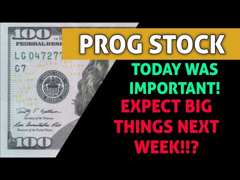 PROG STOCK BIG UPDATE!! – WHAT HAPPENED TODAY & CAN WE EXPECT MORE GROWTH NEXT WEEK AFTER TODAY?
