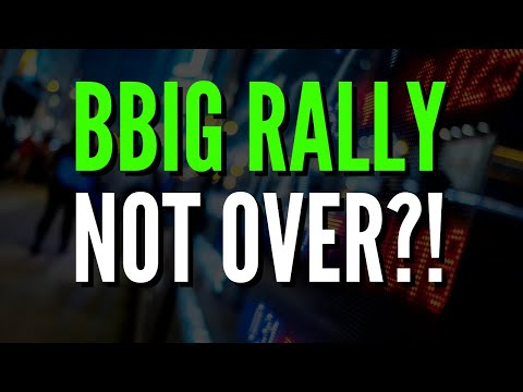 BBIG Stock – RALLY IS NOT OVER!
