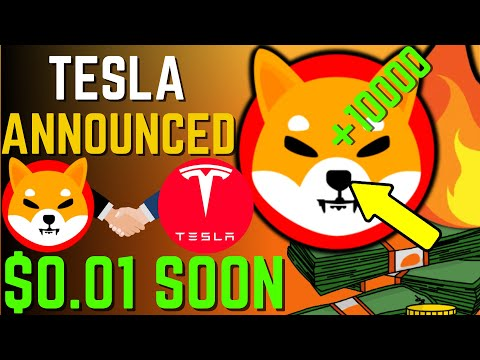 SHIBA INU COIN NEWS TODAY – TESLA TO ACCEPT SHIBA AND WILL HIT $0.01 SOON – PRICE PREDICTION UPDATED
