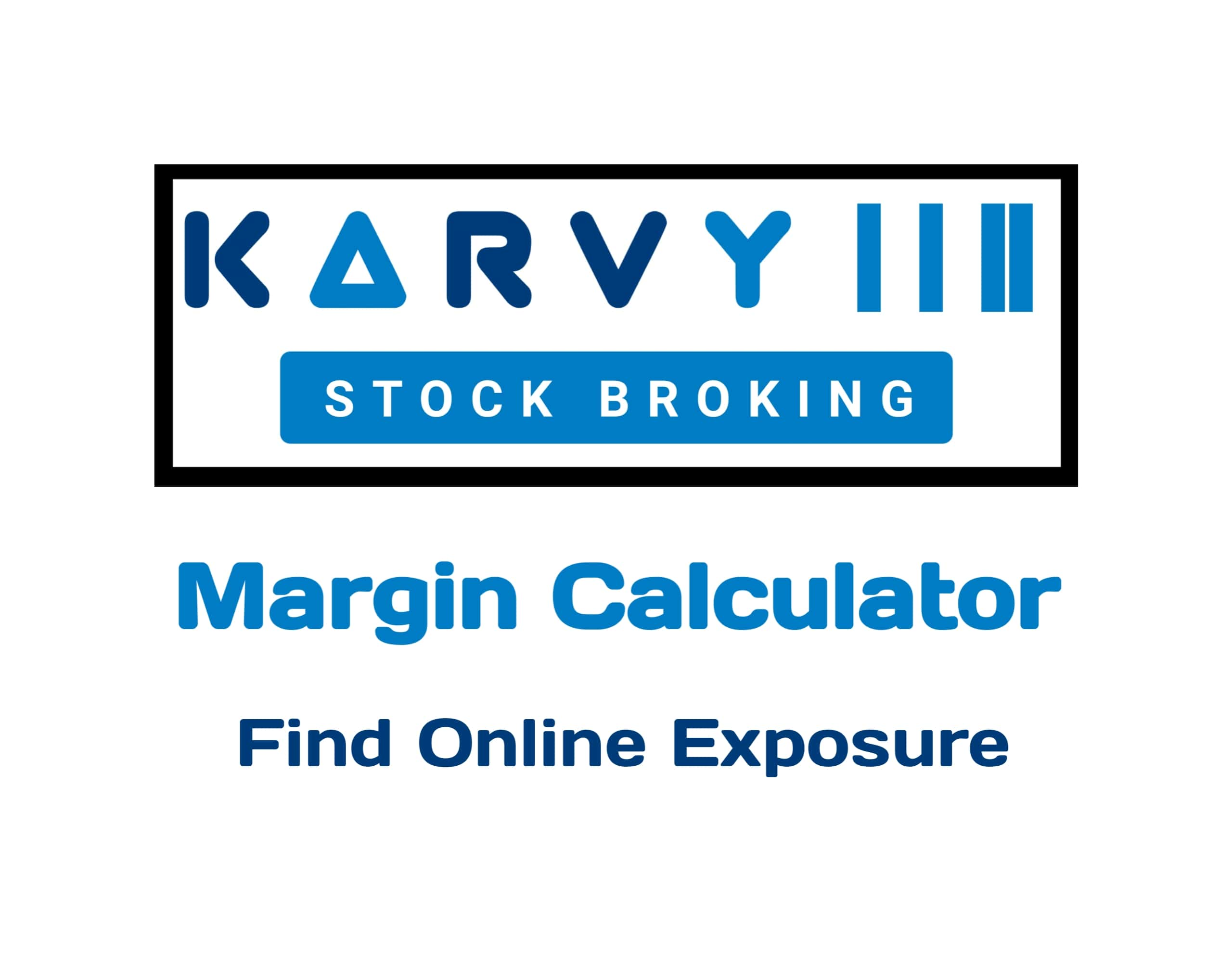 Karvy Margin Calculator