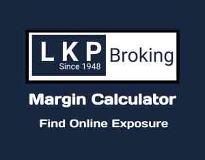 LKP Securities Margin Calculator Online India in 2019