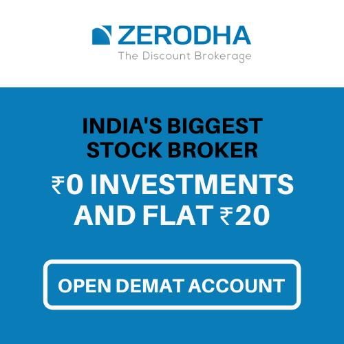 Open Zerodha Demat Account