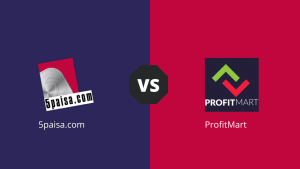 5Paisa Vs Profit Mart - Comparative Study On Products Offering