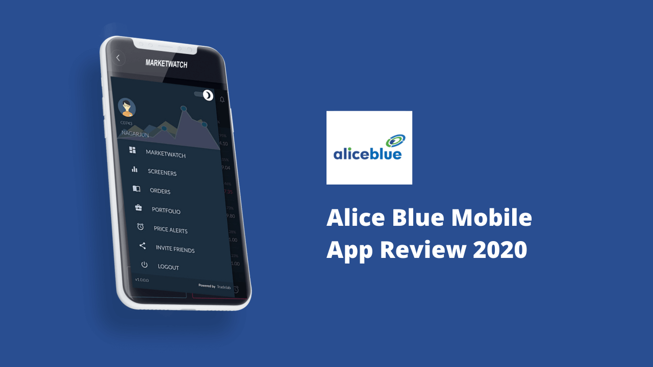 Alice Blue Mobile App