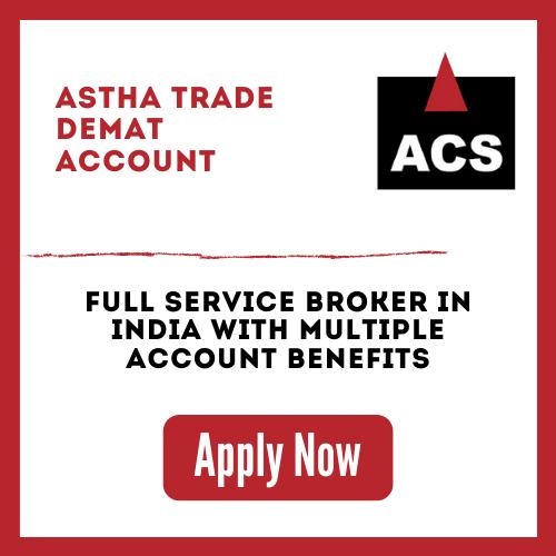 Open Astha Trade Demat Account