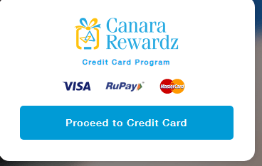 Redeem Canara Bank Credit Card