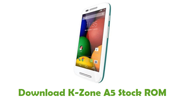 Download K-Zone A5 Stock ROM