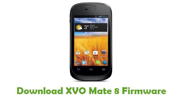 Download XVO Mate 8 Firmware