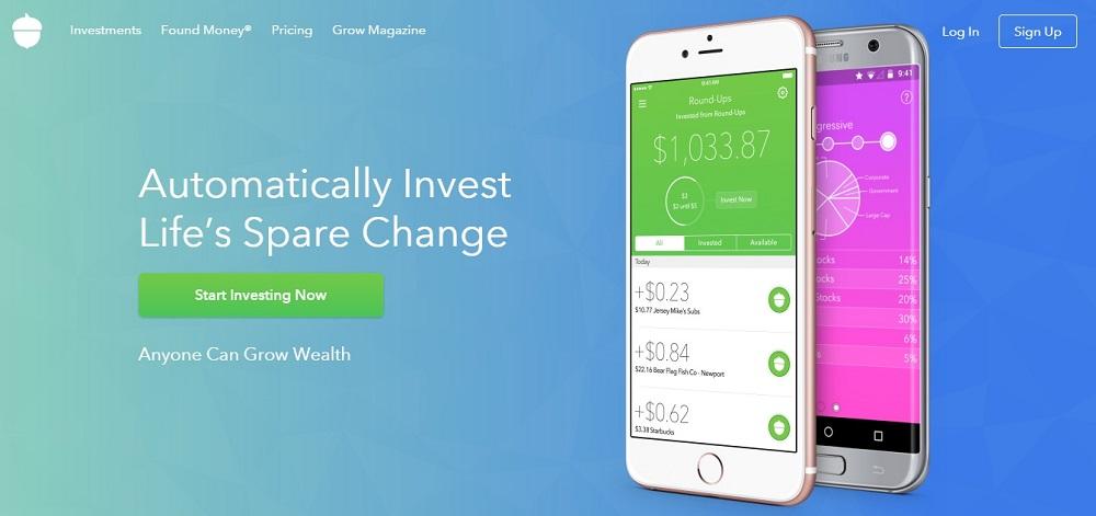 Invest with Acorns App