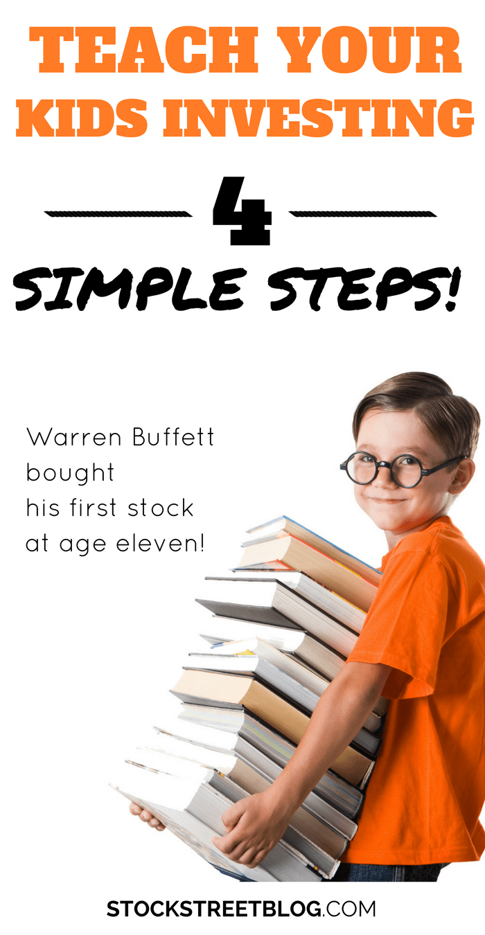 """If you are a mom or dad, it can be an amazing idea to teach your kids about investing and the stock market! I know what you are thinking, """"I don't know anything about the stock market."""" Don't let that stop you, <a href="""