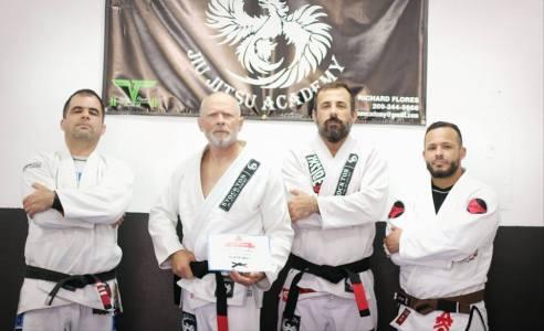 Sergio Silva, Chuck Walker, Tim Freeman, Rich Flores