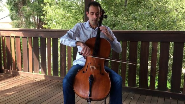Stockton Symphony At Home: Isaac Pastor Chermak – Gigue From Suite No. 1 For Solo Cello By Bach