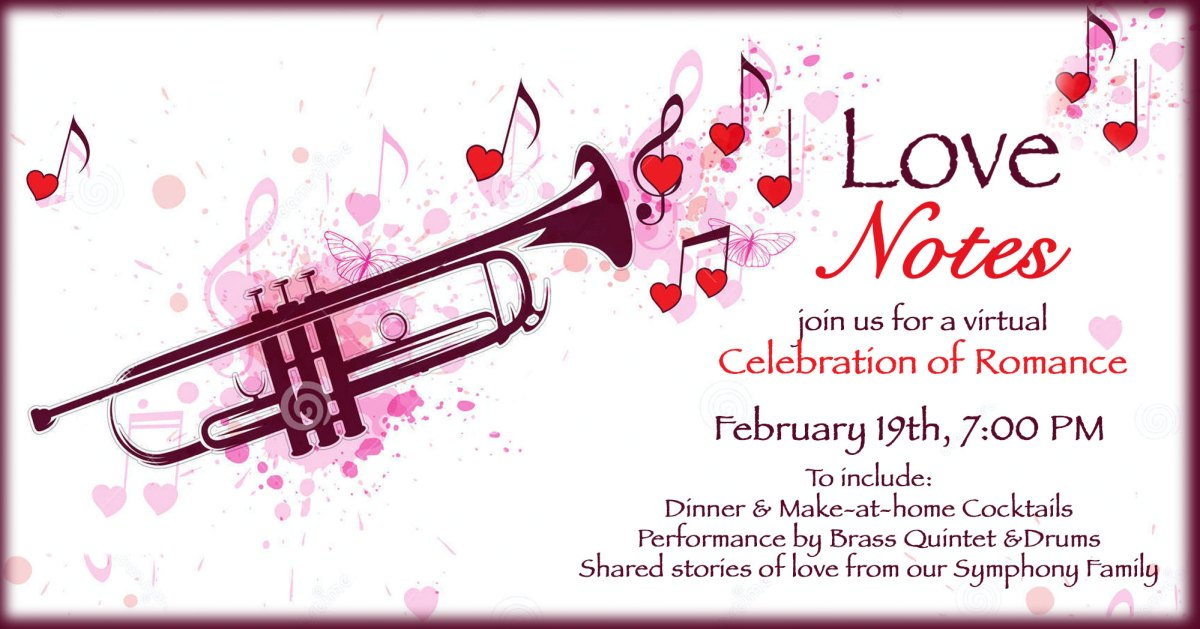 Love Notes - Stockton Symphony Special Event