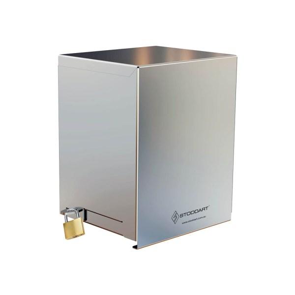 High Security Hand Sanitiser Dispenser - With Shroud