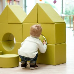 STRRR Play blocks House creation