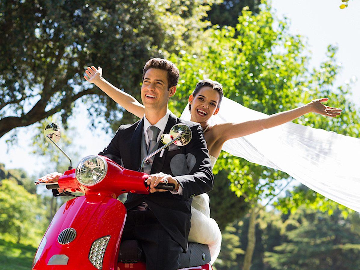 Motorroller-Legende VESPA stammt aus der Toskana