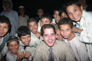 Wedding in Afghanistan - men's section. 2006.