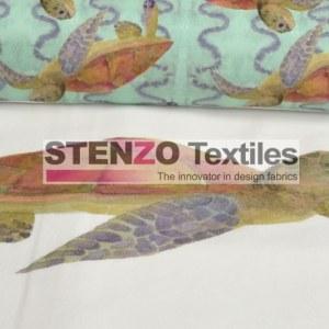 Stenzo Jersey Stoff Schildkröte