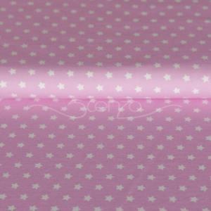 Stenzo Jersey Stoff Stern pink