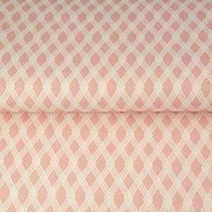 Stenzo Poplin rosa und weiß