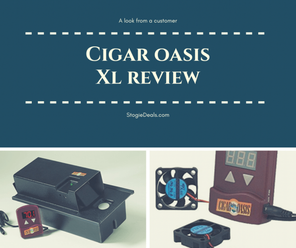 Cigar Oasis II XL Review logo