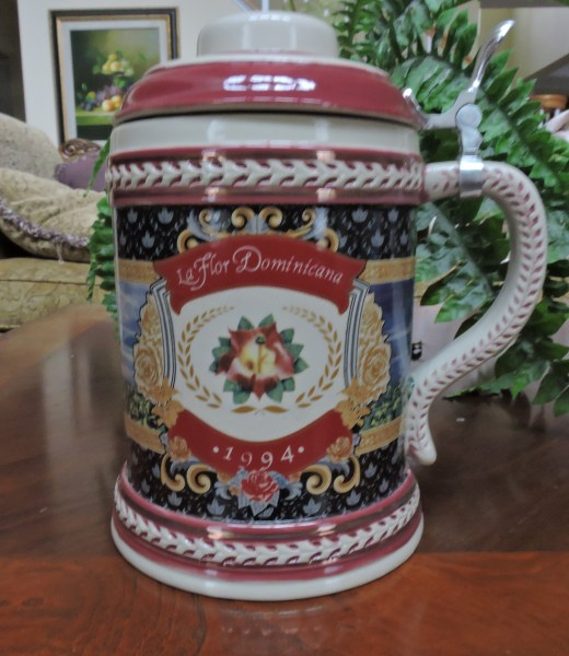 La Flor Dominicana 1994 Beer Stein