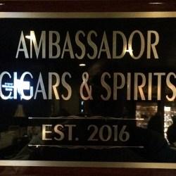 The Ambassador Cigars and Spirits Lounge