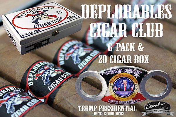 Deplorable Cigar Club cigar