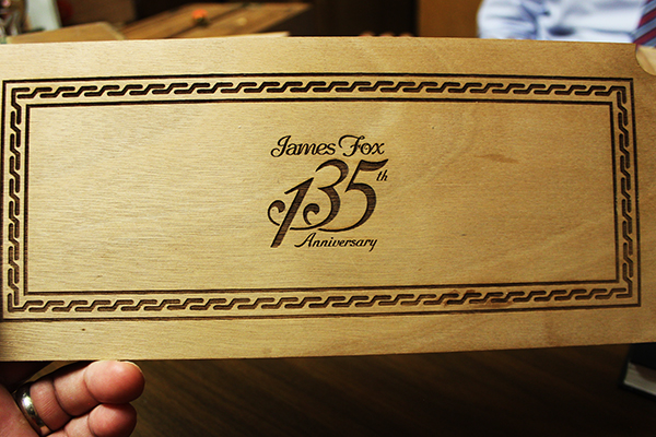 James Fox 135th Anniversary