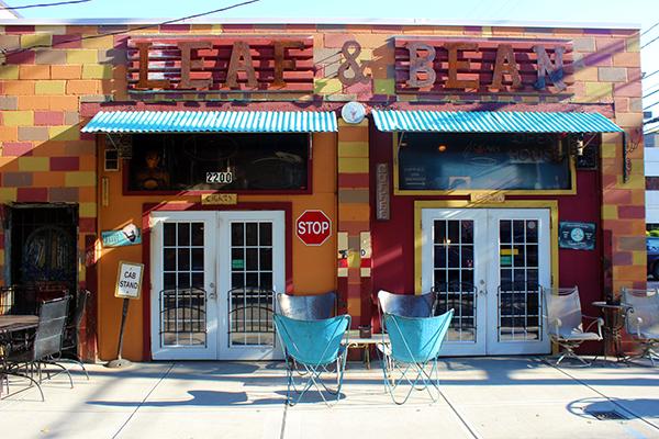 Leaf & Bean Strip Coffee and Cigar Shop