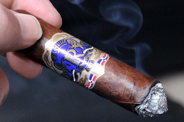 Vintage Rock-A-Feller Cigar Group Dominican Blue Toro