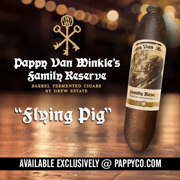 Pappy Van Winkle Flying Pig
