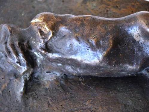 Sleep, bronze, detail
