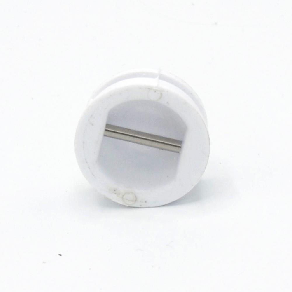 leash plug weiss