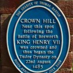 Blue Plaque for Crown Hill