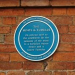 Blue Plaque for The Moats & Tumulus