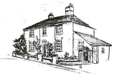 Sketch of the Free Grammar School, Stoke Golding