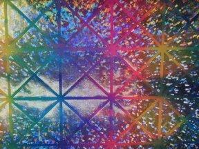 lycra-stof-4-way-stretch-regenboog-met-glitter-x629