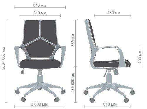 Технические характеристики кресла Urban LB